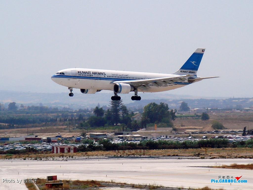 [原創]EASU 辛苦六小時就是為了它 『科威特航空A300-600 降落 』送給NIE NAN 兄弟!