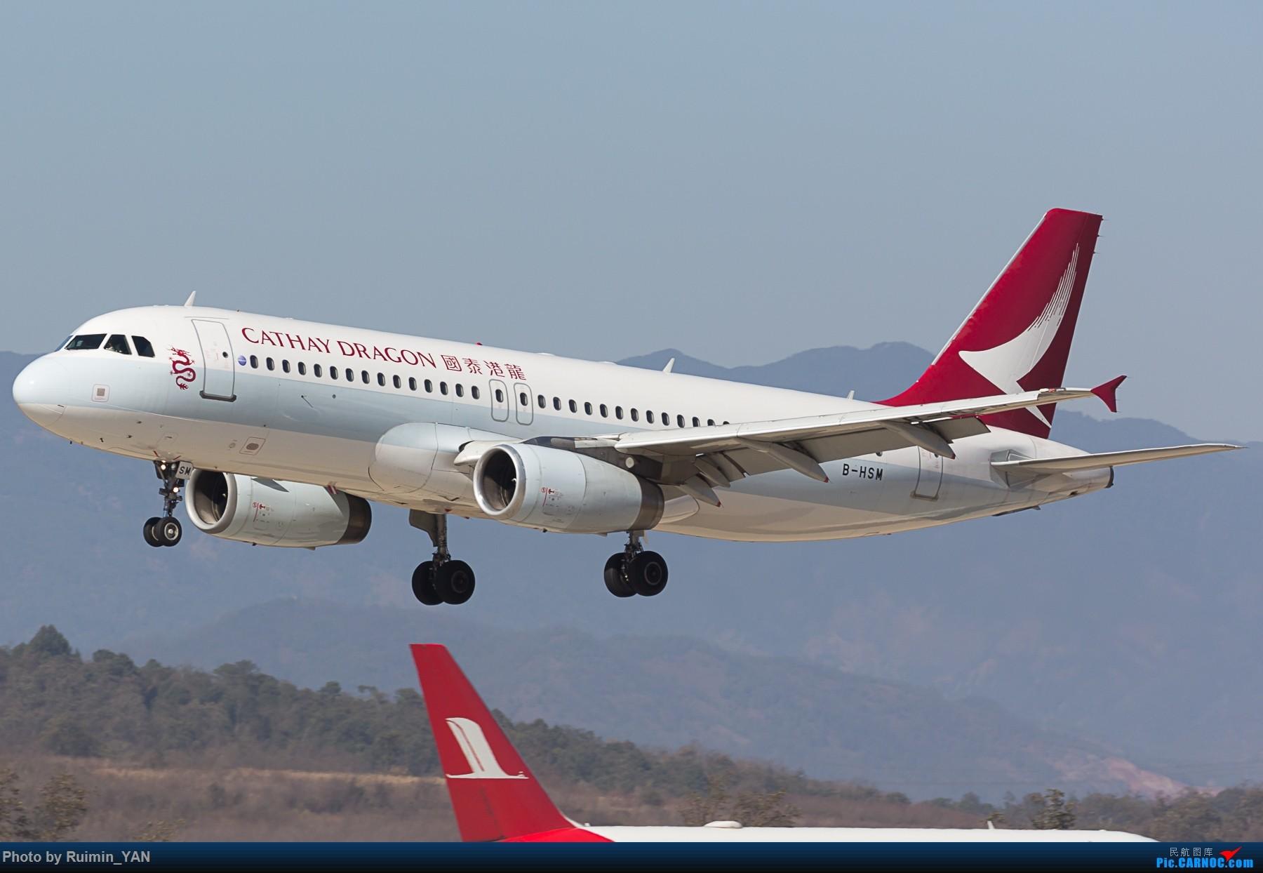 [原創]【KMG】國泰港龍航空(Cathay Dragon) 紅燒魚翅 B-HSM A320