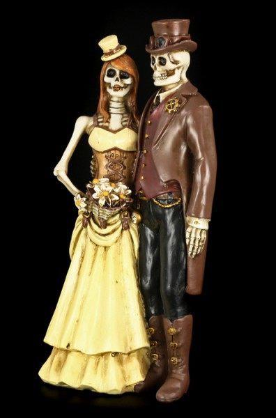 Brautpaar Figuren Gothic