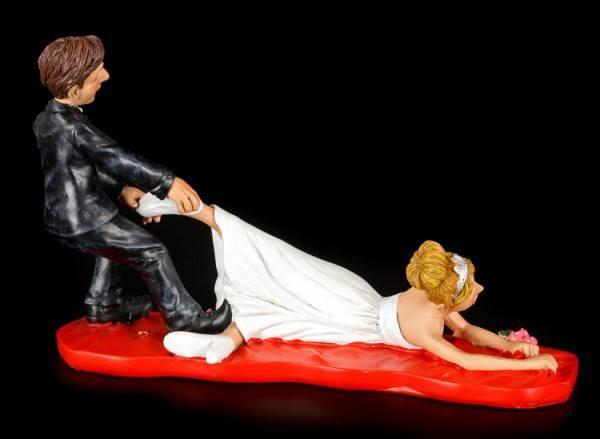 Zu spt  Lustige Brautpaar Figur  wwwfigurenshopde