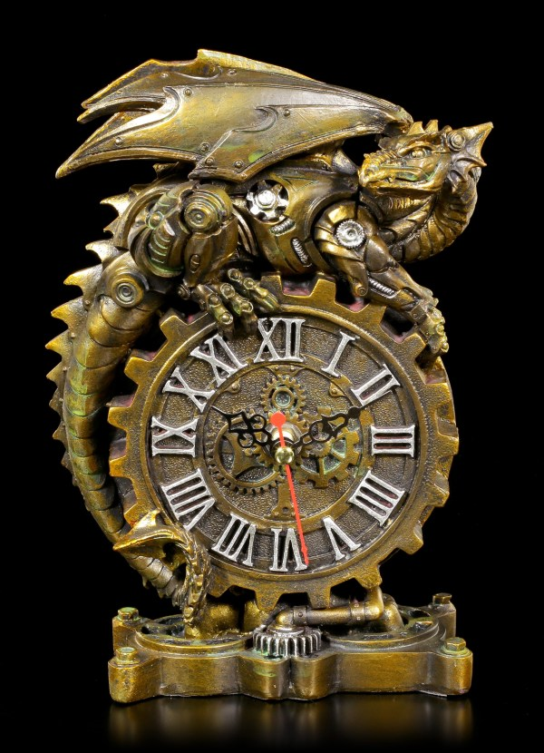Steampunk Clockwork Dragon