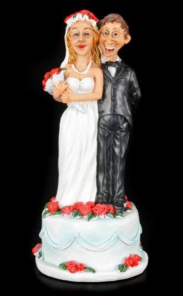 Laptop Computer Brautpaar Tortenfigur fr die Hochzeitstorte