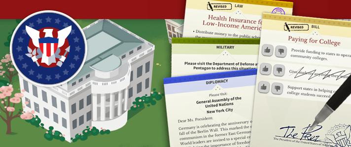 Icivics Win White House