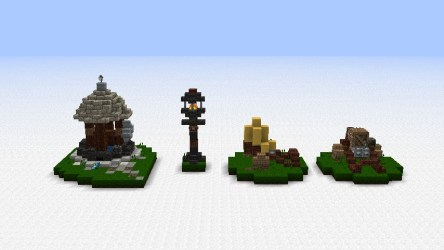 minecraft building bundle map medieval novv builds buildings lamp well project planetminecraft architecture blueprints tips designs projects wells forge carts