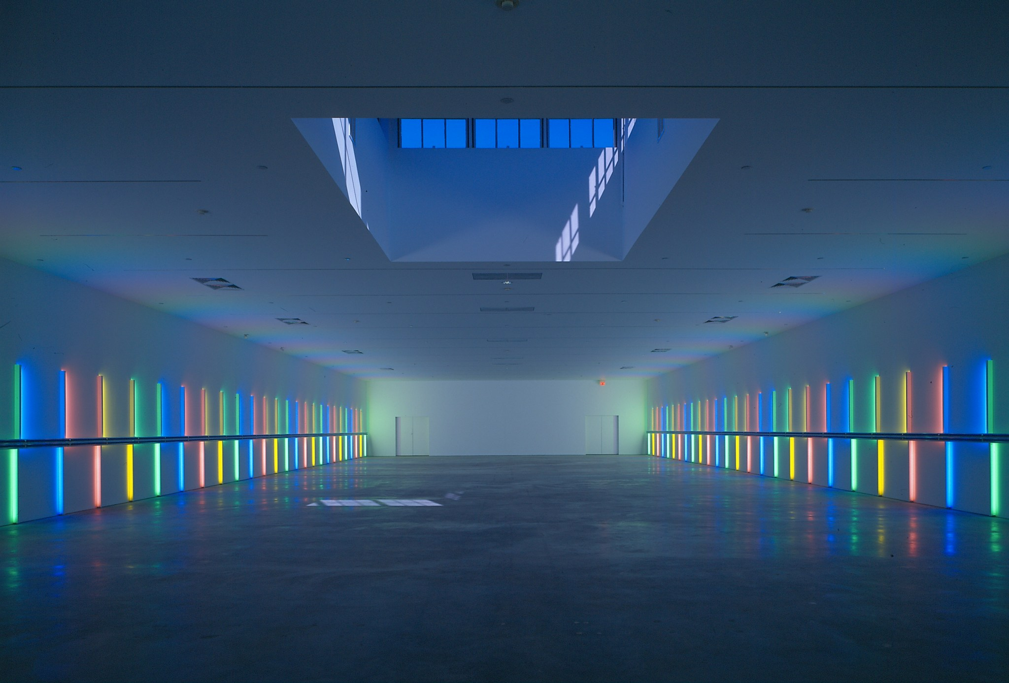 Dan Flavin Installation - Menil Collection