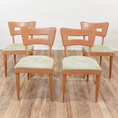 Heywood Wakefield Dogbone Chairs Small Office Club Set Of 4 Loveseat Vintage Next
