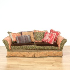 Bohemian Sofa Bed The King Reviews Slipcovered Multicolored Loveseat Vintage
