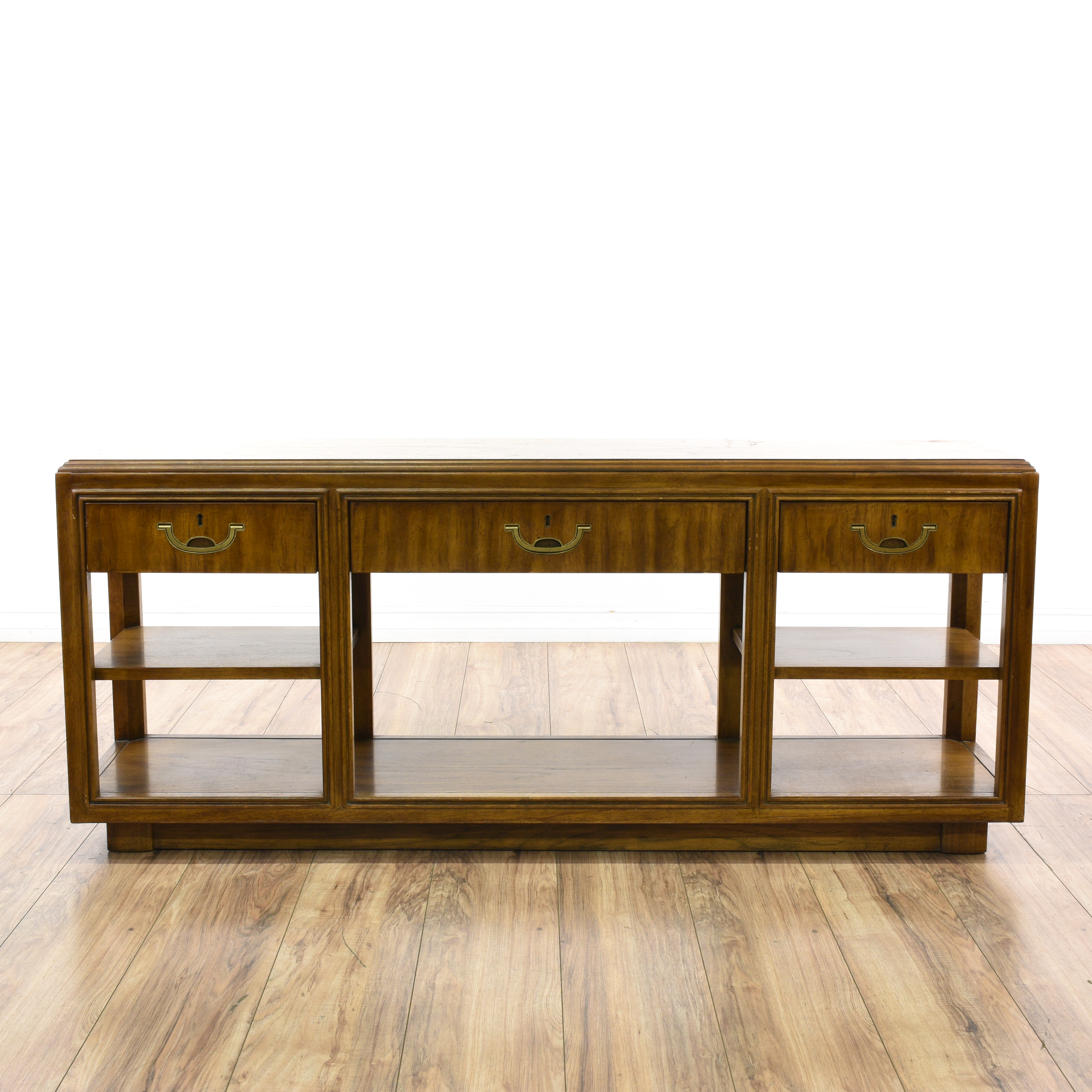 drexel sofa table foster elite 98 leather quotdrexel accolade quot campaign console sideboard