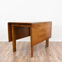 Mid Century Modern Drop Leaf Gate Leg Dining Table ...