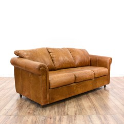 Camel Colored Leather Sofas Sofascore Barcelona Vs Atletico Madrid Distressed Sleeper Sofabed Loveseat