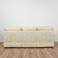 Damask Sofa Bed Milan Leather Quotkrause 39s Quot Cream Floral Loveseat Vintage