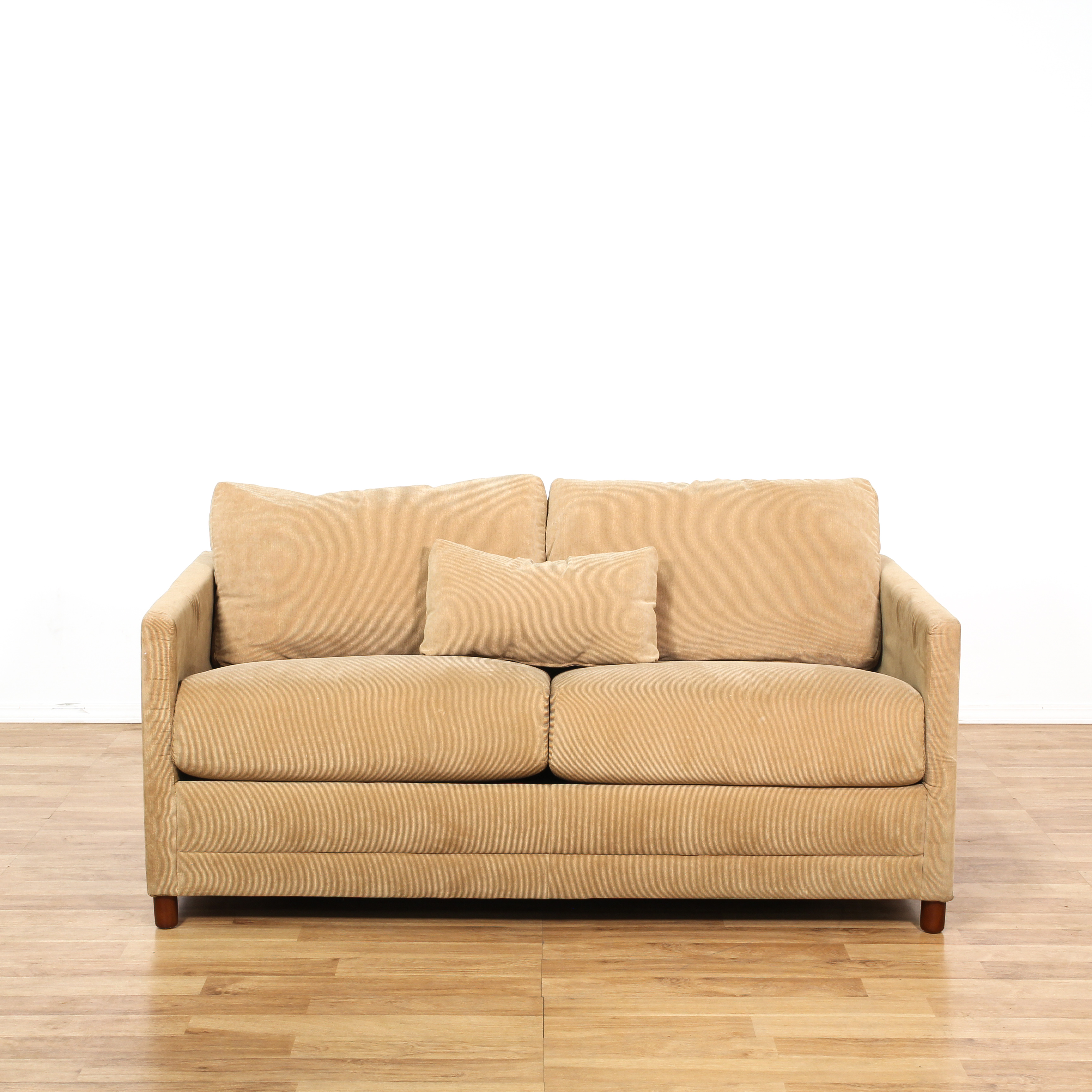 brown sectional sleeper sofa what to clean a leather with quotbaker quot corduroy loveseat