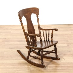 Antique Child Rocking Chair How To Make A Sex 39s Loveseat Vintage Furniture