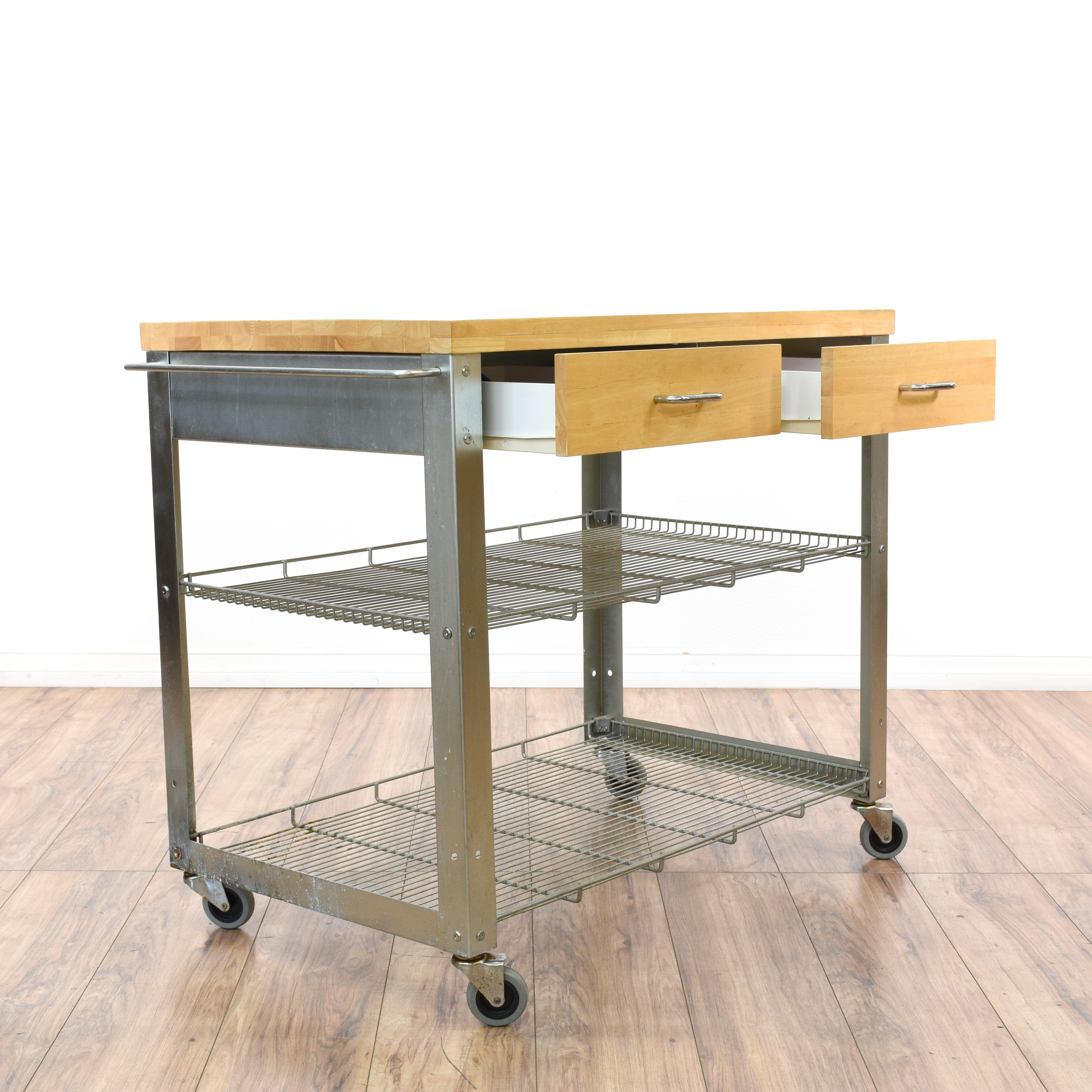stainless steel carts kitchen top appliance brands rolling island cart loveseat