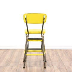Old Fashioned Kitchen Chair Step Stool Vintage Looking Appliances Mid Century Modern Yellow Quotcosco Quot Loveseat
