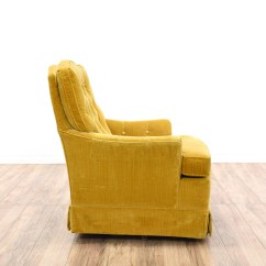 Gold Velvet Chair Leather Chrome Quotwoodmark Quot W Tufted Back Loveseat