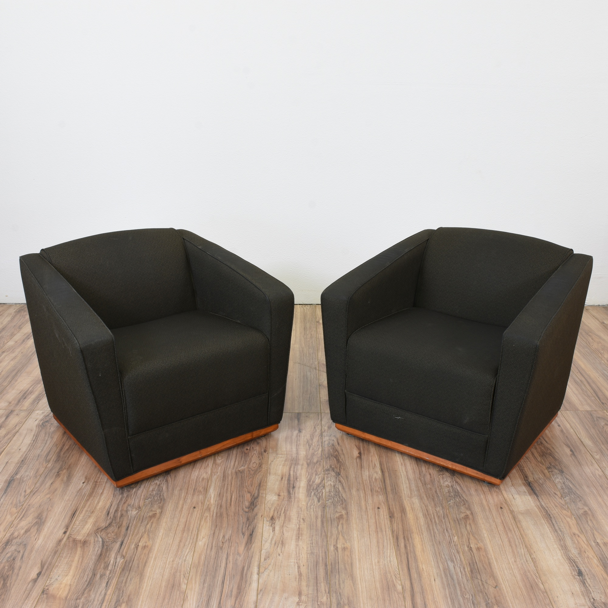 Cube Chairs Pair Of