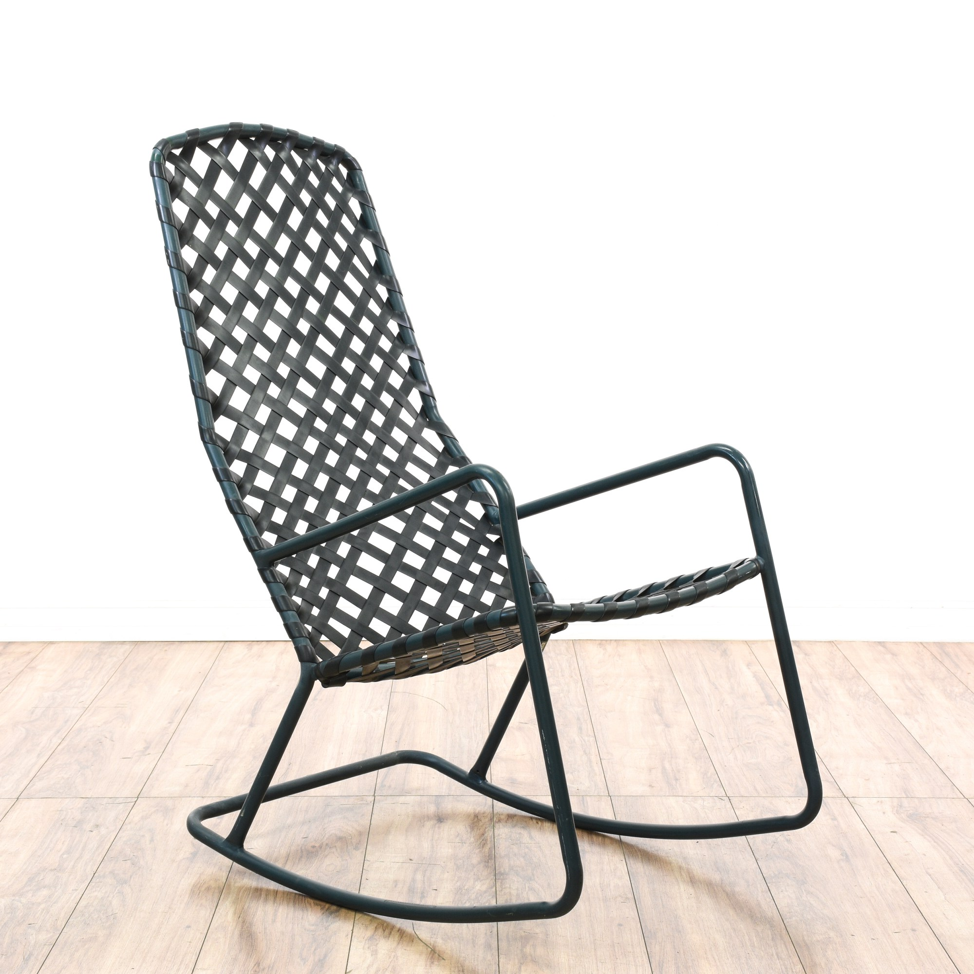 Brown Jordan Tamiami Metal Outdoor Rocking Chair