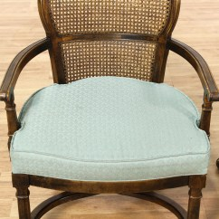 Cane Back Dining Chair Joie Owl High Set Of 4 Rolling Chairs Loveseat