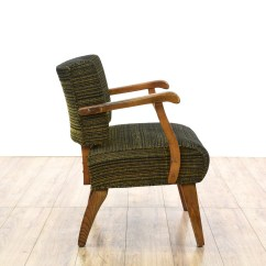 Modern Slipper Chair Used Rocking Chairs Mid Century Wood Frame Woven