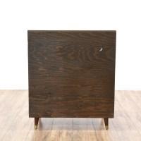 Mid Century Modern Shutter Front Cabinet | Loveseat ...