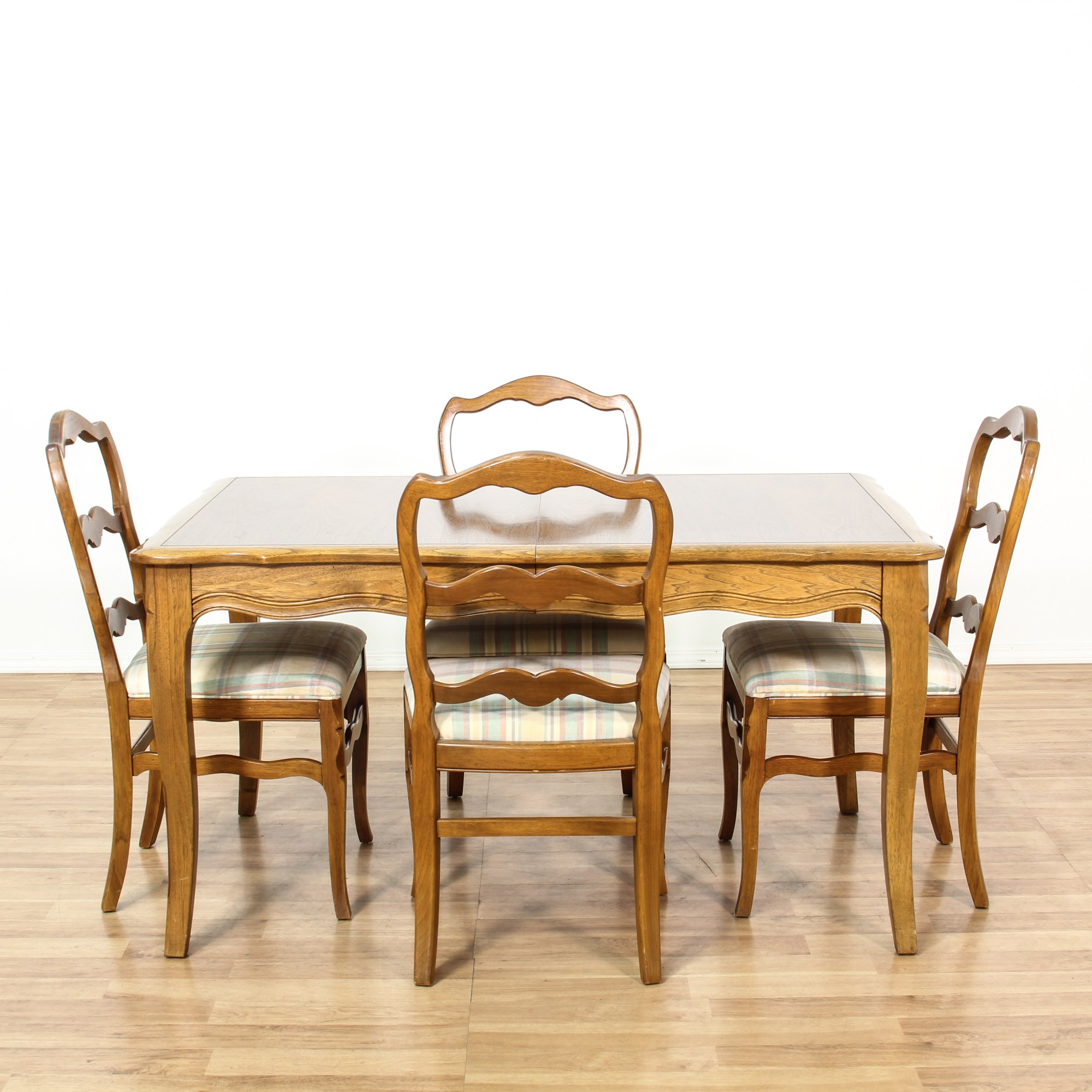 Drexel French Provincial Dining Set w 4 Chairs