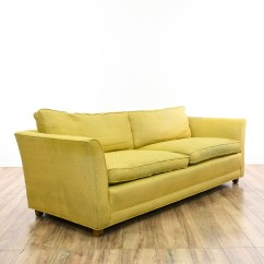 Berwick Mid Century Sleeper Sofa Cheapest Pull Out Bed Yellow Upholstered Modern 2 Loveseat