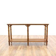 Legare Bamboo Sofa Table Mart Cloud Sectional Tropical Carved Faux Console Loveseat