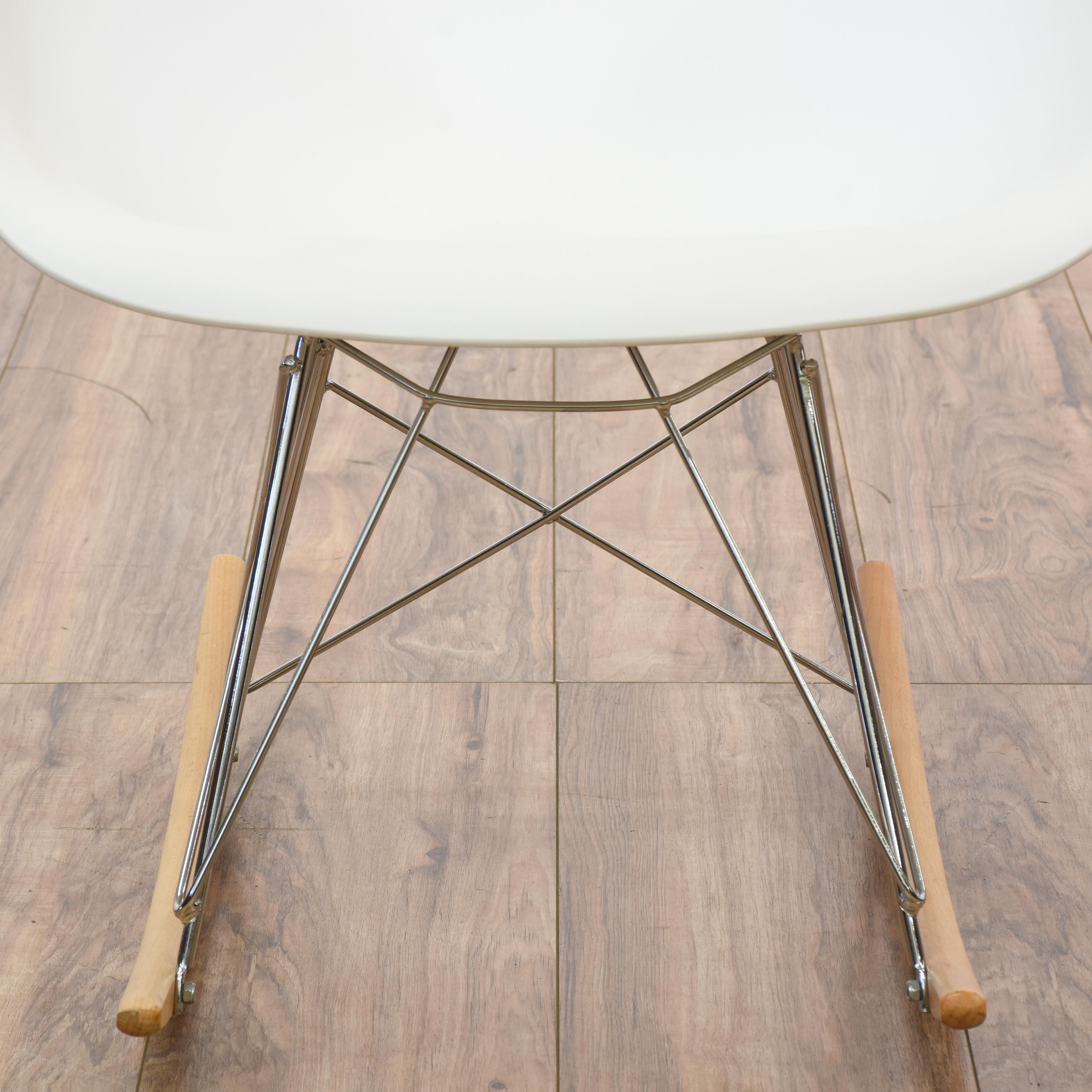 mid century rocker chair hanging gauteng modern eames style shell