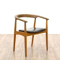 """AFM Japan"" Mid Century Modern Curved Accent Chair ..."