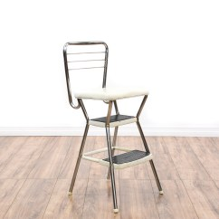 Old Fashioned Kitchen Chair Step Stool Price Pfister Treviso Faucet Quotcosco Quot Retro White Seat Loveseat Vintage