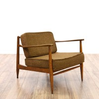 Mid Century Modern Accent Chair | Loveseat Vintage ...