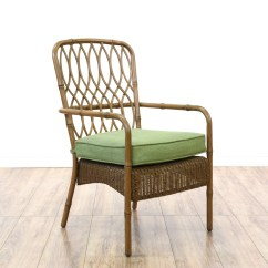 Hampton Bay Patio Chairs Dining Chair Covers India Set Of 4 Quothampton Quot Wicker And Metal