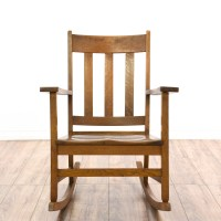 Mission Style Rocking Chair | Loveseat Vintage Furniture ...