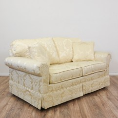Damask Sofa Bed Condo Sectional Quotkrause 39s Quot Cream Floral Loveseat