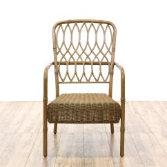 Hampton Bay Patio Chairs Baby Chair Swinging Model No Ts Bs 16 Set Of 4 Quothampton Quot Wicker And Metal
