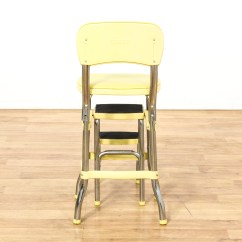 Old Fashioned Kitchen Chair Step Stool Outdoor Photos Quotcosco Quot Retro Yellow Loveseat Vintage