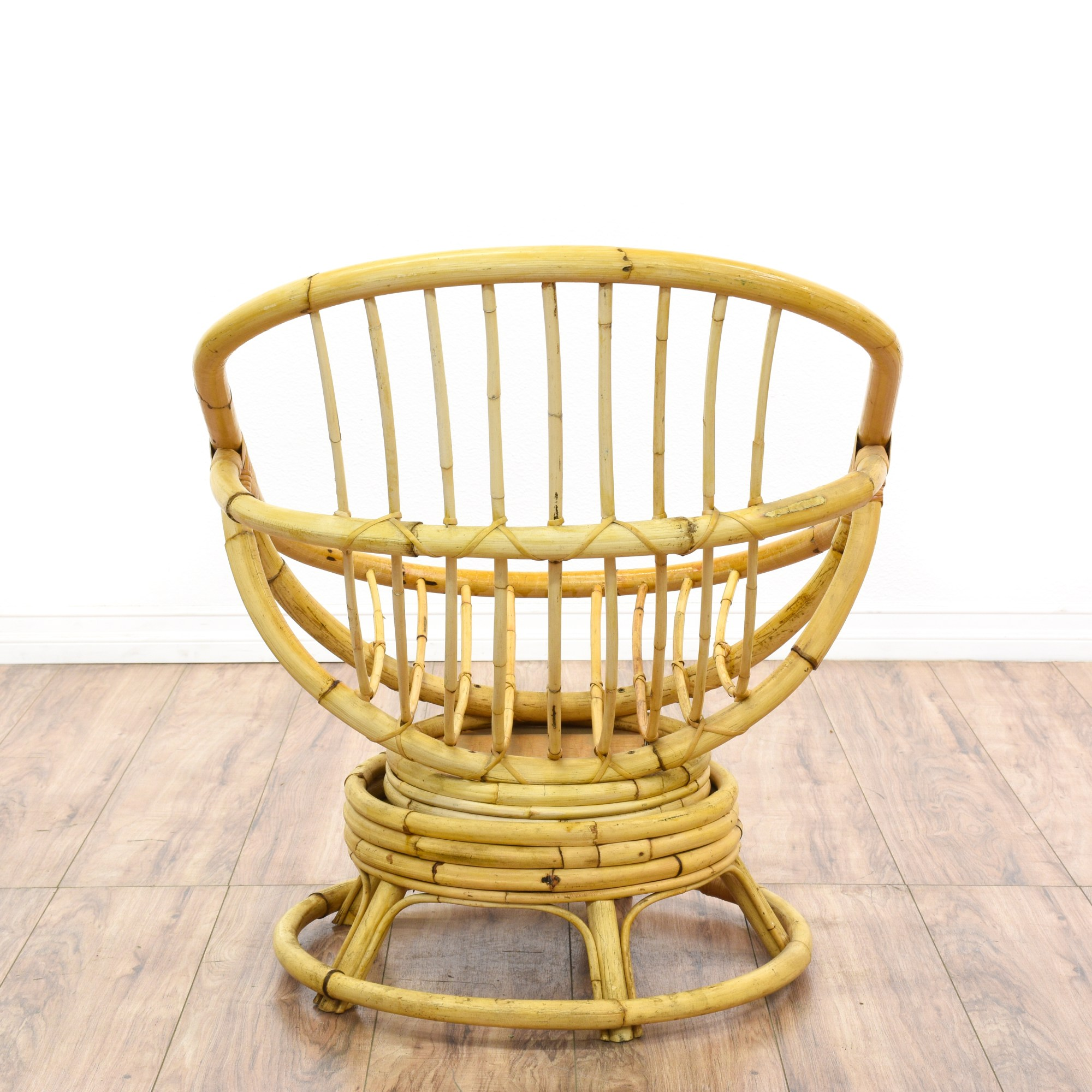Rattan Egg Chairs Rattan Swivel Egg Chair Loveseat Vintage Furniture San