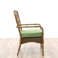 "Set of 4 ""Hampton Bay"" Wicker & Metal Patio Chairs ..."