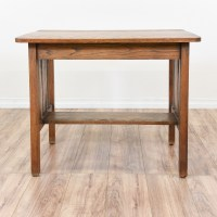 """""""Stanley"""" Mission Style Desk Console Table 