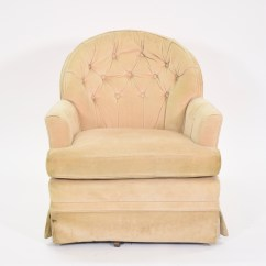 Cream Club Chair Recliner Lift Chairs Upholstered Swivel Loveseat Vintage