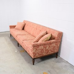 Asian Sofas How To Clean Your Sofa Red And Gold Oriental Patterned Loveseat Vintage