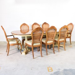 Drexel Heritage Sofa Prices Sunbrella Slipcover Quotdrexel Quot Dining Set W Leaf And 8 Chairs