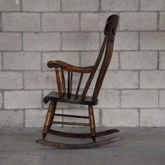 Unfinished Wood Rocking Chair Yoga Dvd Solid Loveseat Vintage Furniture San