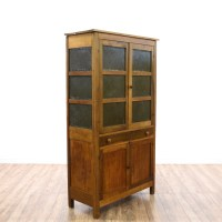 Pie Safe Cabinet w/ Punched Tin Doors