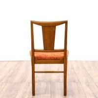 Set of 4 Mid Century Modern Dining Chairs   Loveseat ...