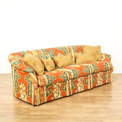 Floral Sectional Sofa Stealasofa Yelp Bold Red Striped Upholstered Loveseat