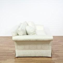 Damask Sofa Bed Green Chesterfield Velvet Quotbaker Quot White Brocade Loveseat 2