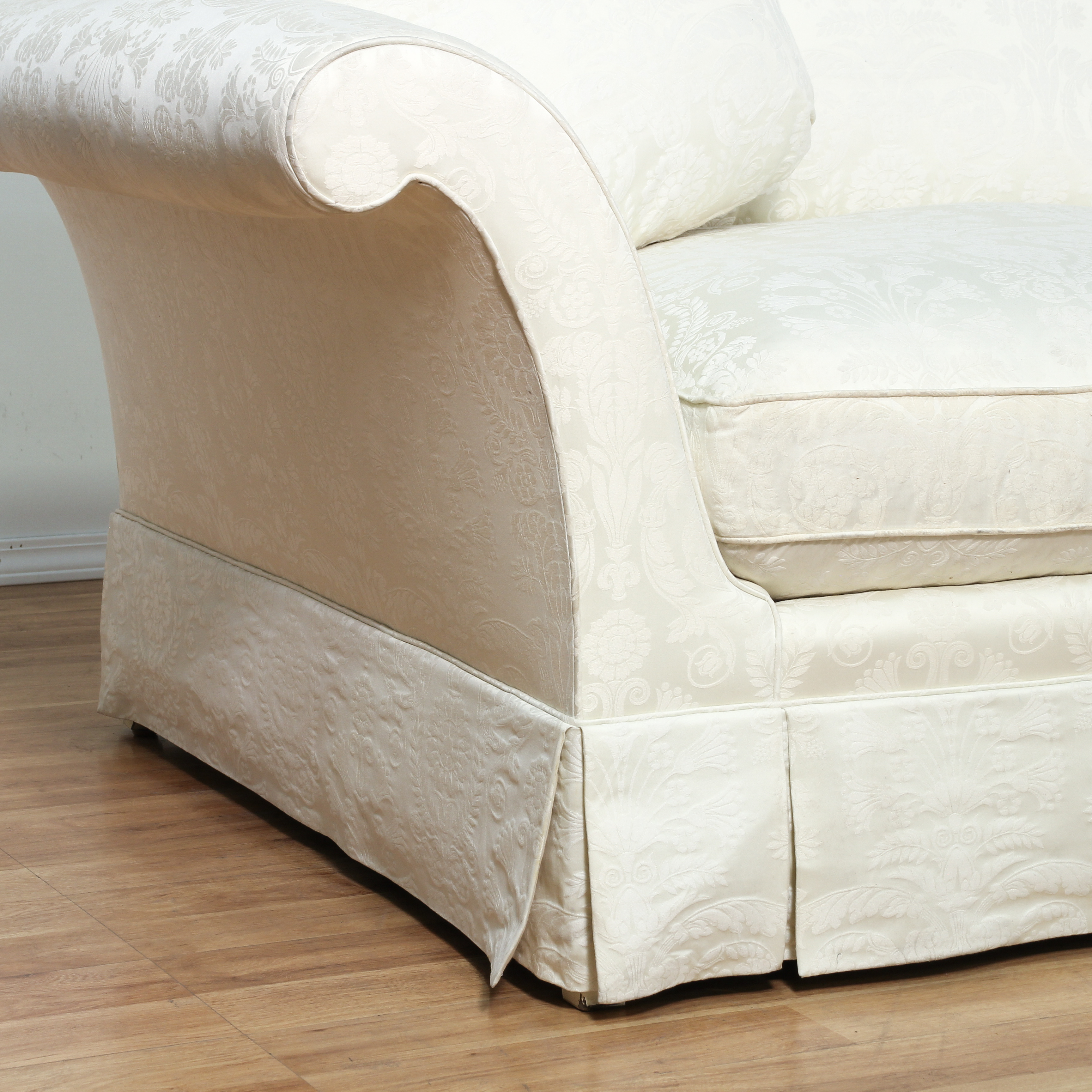 damask sofa bed sofas and armchairs house fraser quotbaker quot white brocade loveseat 2