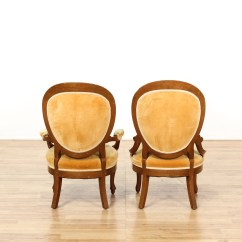 Tufted Yellow Chair Different Designs Pair Of Victorian Dining Chairs Loveseat